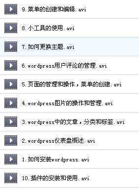 WordPress建站视频 主题模板制作 WP视频教程 WordPress 第13张